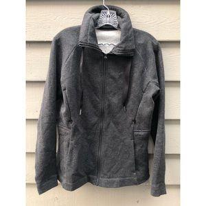 Lululemon grey zip up jacket size 6